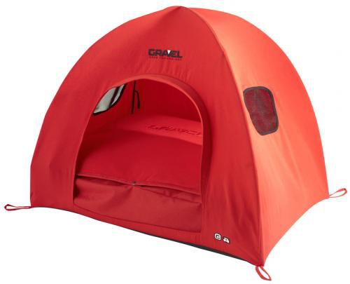igloos-for-dogs-gravel-kennel-gravel-tec-xl-rojo