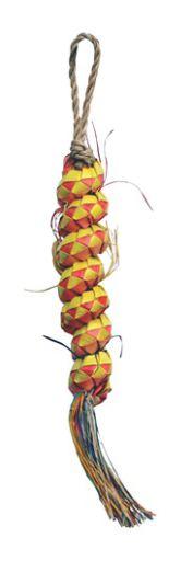 toys-for-birds-hagen-l-w-tesoro-nat-borlas-enrolladas-de-buri-19x2-5cm