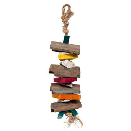 toys-for-birds-hagen-l-w-tesoro-nat-columna-de-maderas